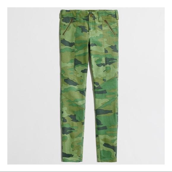 J. Crew Pants - J.CREW Camo Skinny Pants